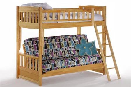 CINNAMON TWIN/FUTON BUNK
