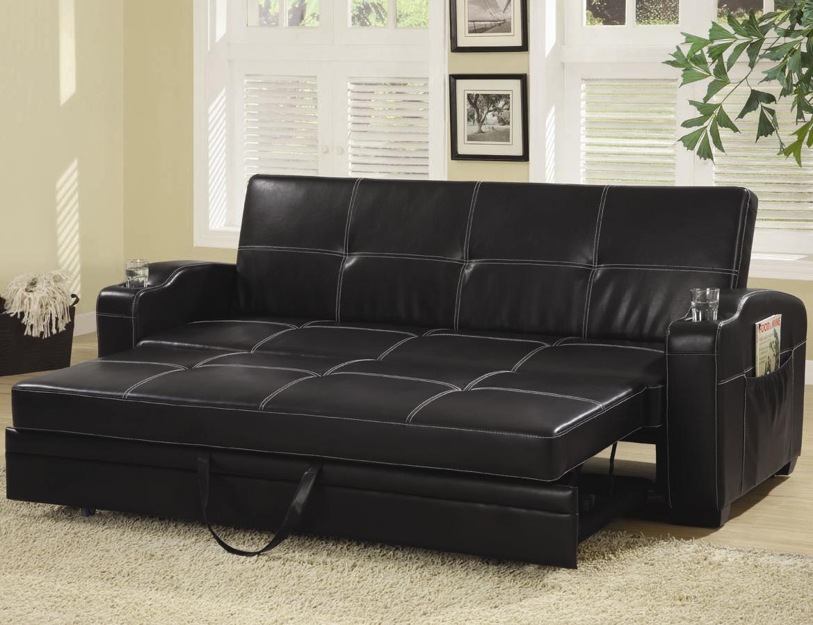 300132 CONVERTIBLE SOFA BED by Coaster | Action Futons