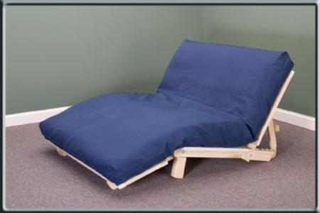 KD UNFINISHED TRIFOLD LOUNGER FUTON FRAME