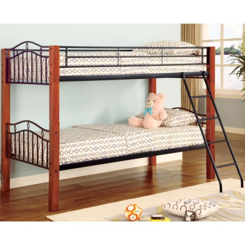 COASTER TWIN TWIN BUNK BED