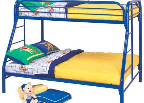 COASTER TWIN OVER FULL BUNK BED