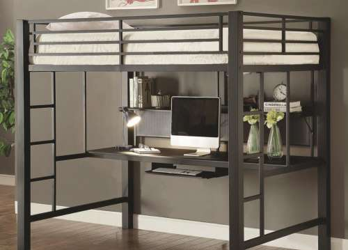 LOFT BUNK BED WITH WORK STATION