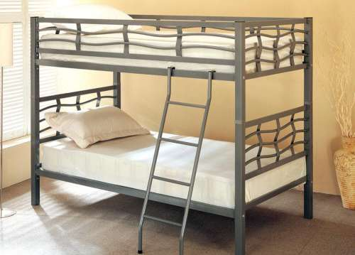 COASTER TWIN OVER TWIN BUNK BED